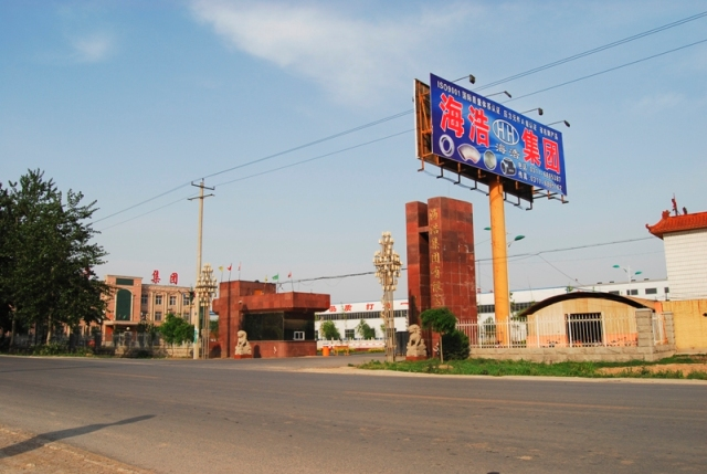 hebei haihao steel pipe company