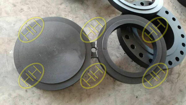 Haihao Group finished carbon steel spectacle blind flanges