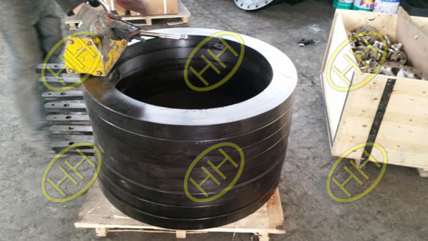Haihao Flange Factory Finished Ring Spacers Flanges
