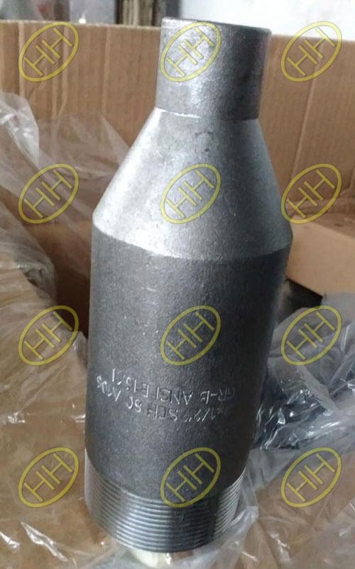 NPT SCHXS A234 WPB ANSI B16.11 Swage Nipple