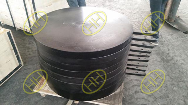 Haihao Group Finished Carbon Steel Paddle Flanges