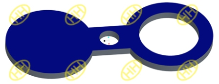 Types of spectacle flanges