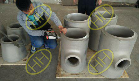 Hebei Haihao Group finished the IBR certificated steel pipe fittings