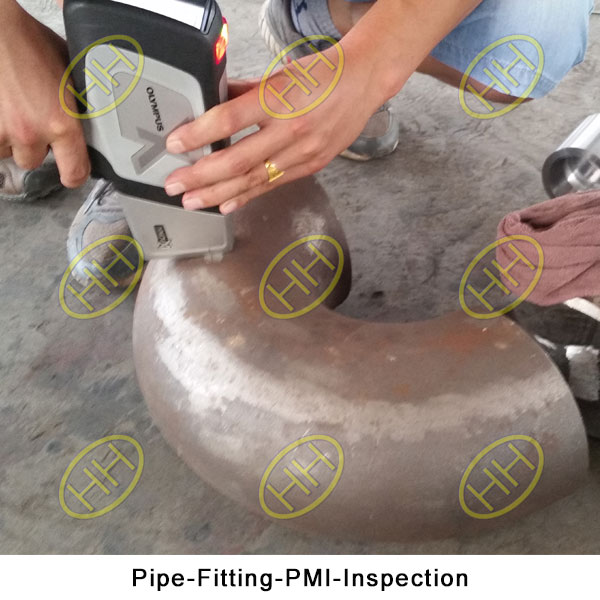Pipe Fitting PMI Inspection