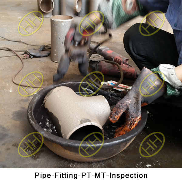 Pipe Fitting PT MT Inspection