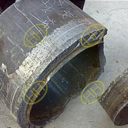 Stainless Steel Pipeline Cracked By Intergranular Corrosion