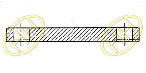 JIS B2220 Blind Flange Products Drawing