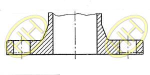 JIS B2220 Integral Flange Products Drawing
