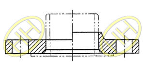 JIS B2220 Lap Joint Flange Products Drawing