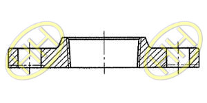 JIS B2220 Threaded Flange Products Drawing