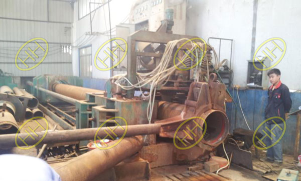 The Pipe Bends Maunfacturing Equipment In Haihao Group