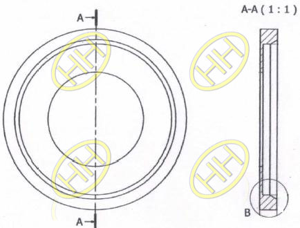 Flange Collars Drawing