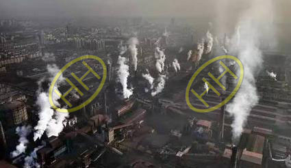 Air pollution from steel pipe manufacture