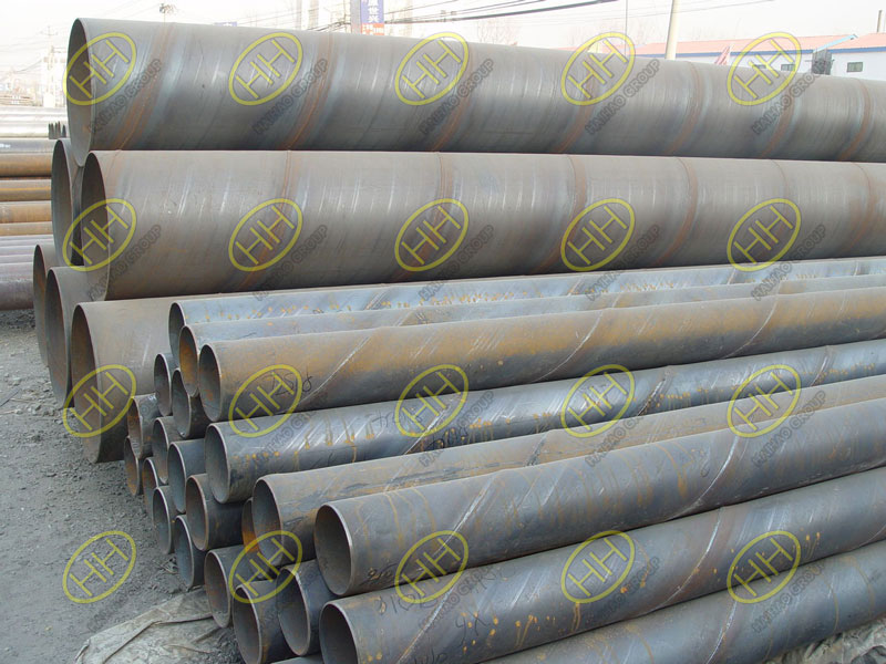 Spiral welded pipes in Haihao Group
