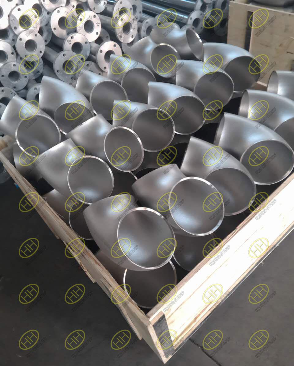 Stainless steel 304 butt weld 90 degee elbows