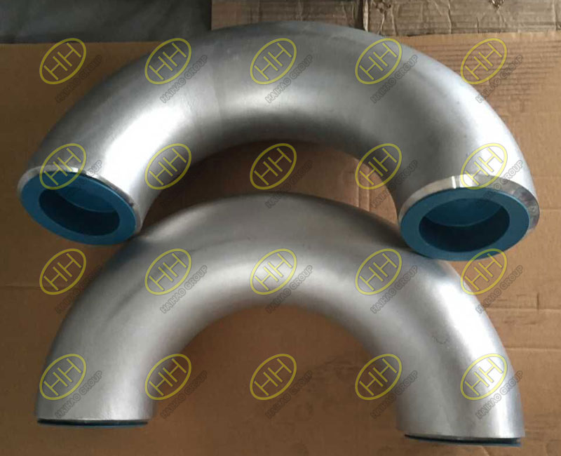 ANSI/ASME B16.9 ASTM A304 WP316 butt weld 180 degree elbows