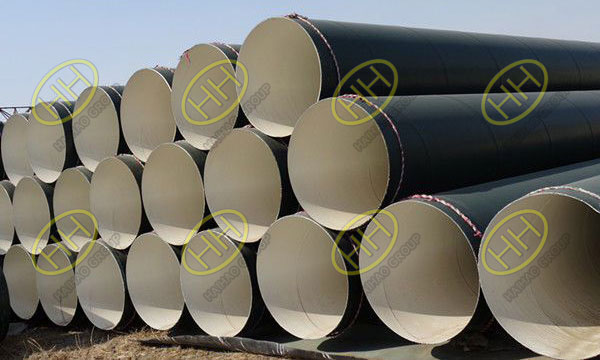 Pipeline coatings used in high temperature