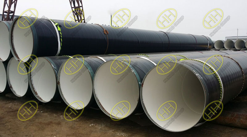 What is 3PE coated steel pipe?