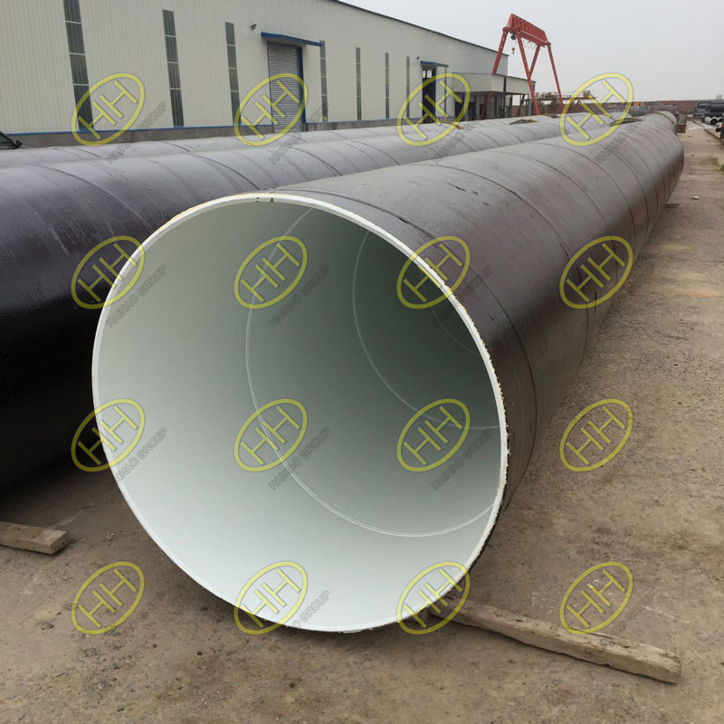 3PE coated steel pipes