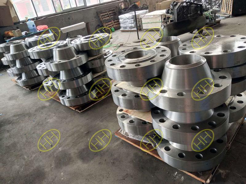 ANSI/ASME B16.5 class 150lb weld neck flange