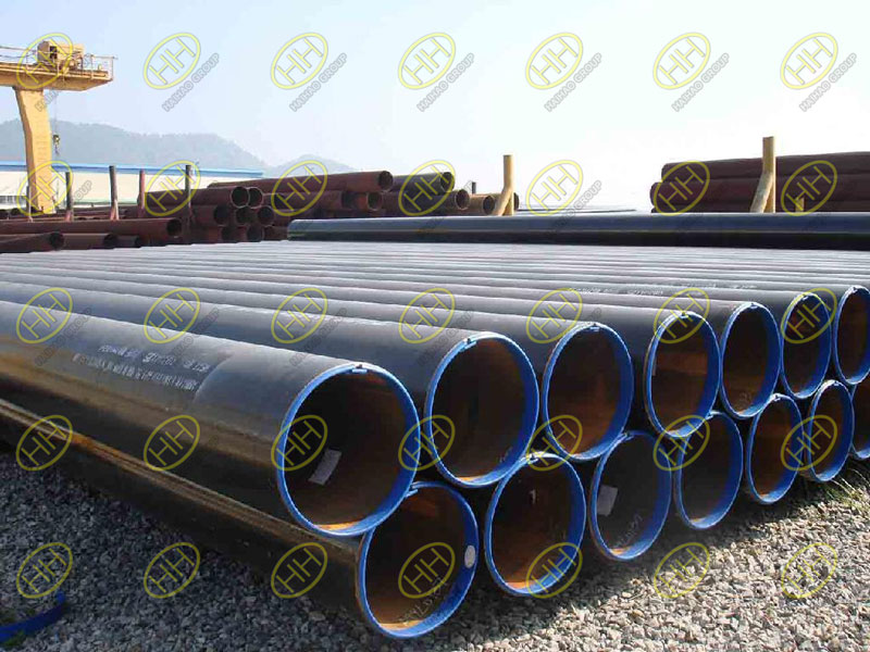 Mechanical properties of API 5L PSL1 and PSL2 steel pipe