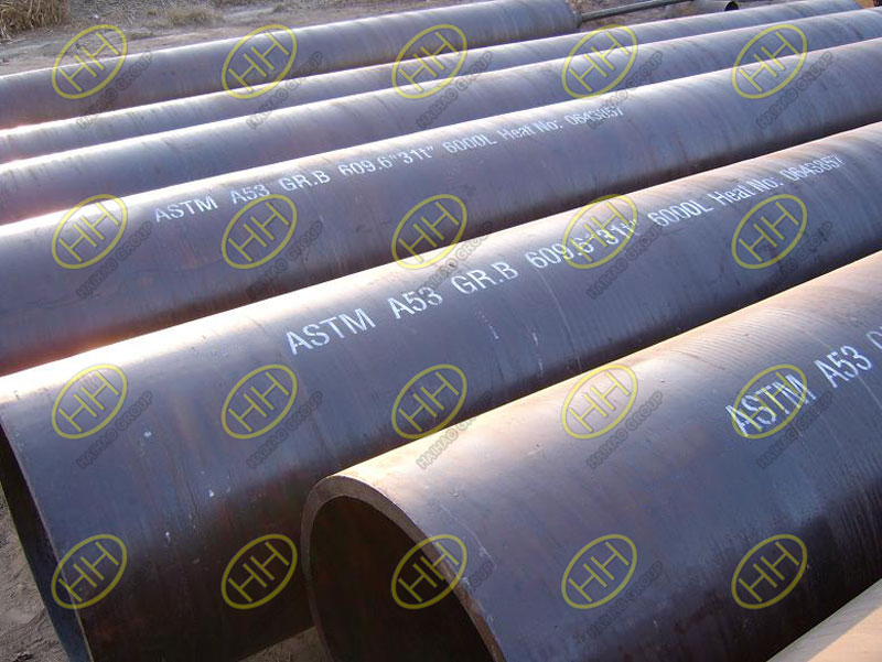 ASTM A53 Grade B seamless steel pipes
