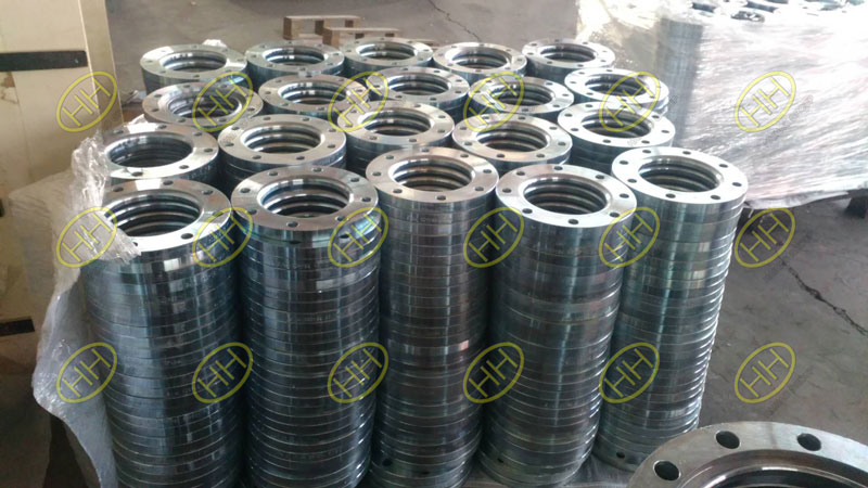 What's the hot dip galvanizing process of flange?