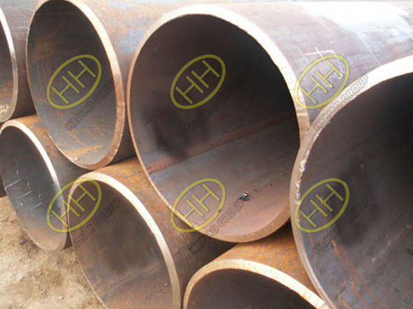 Longitudinal submerged arc welded (LSAW) steel pipes