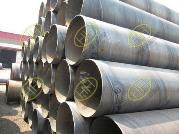 OD323.9 SCH20 P245GH 12meter spiral welded pipe