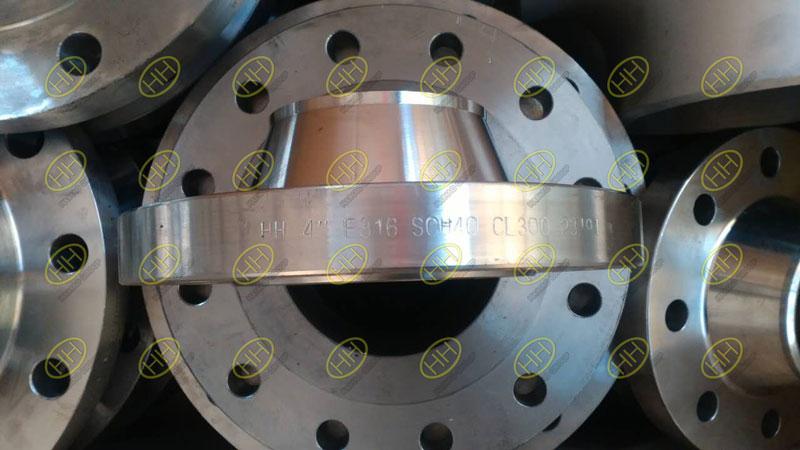 ANSI/ASME B16.5 class 300lb weld neck flange