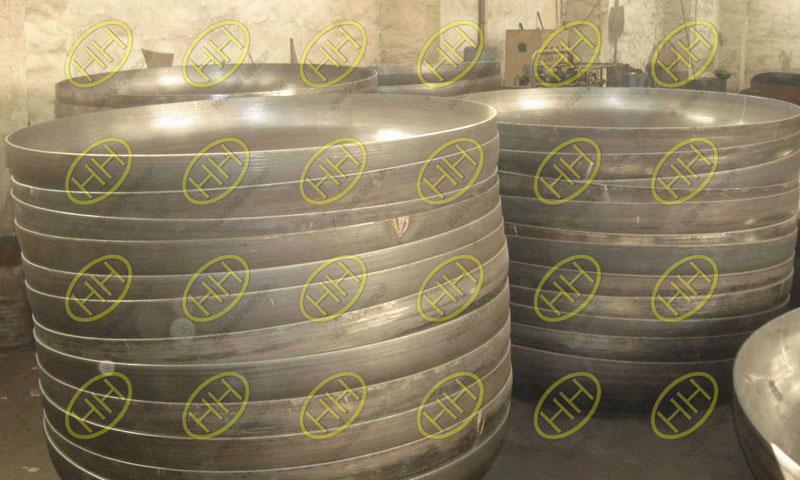 Meet stainless steel elliptical head