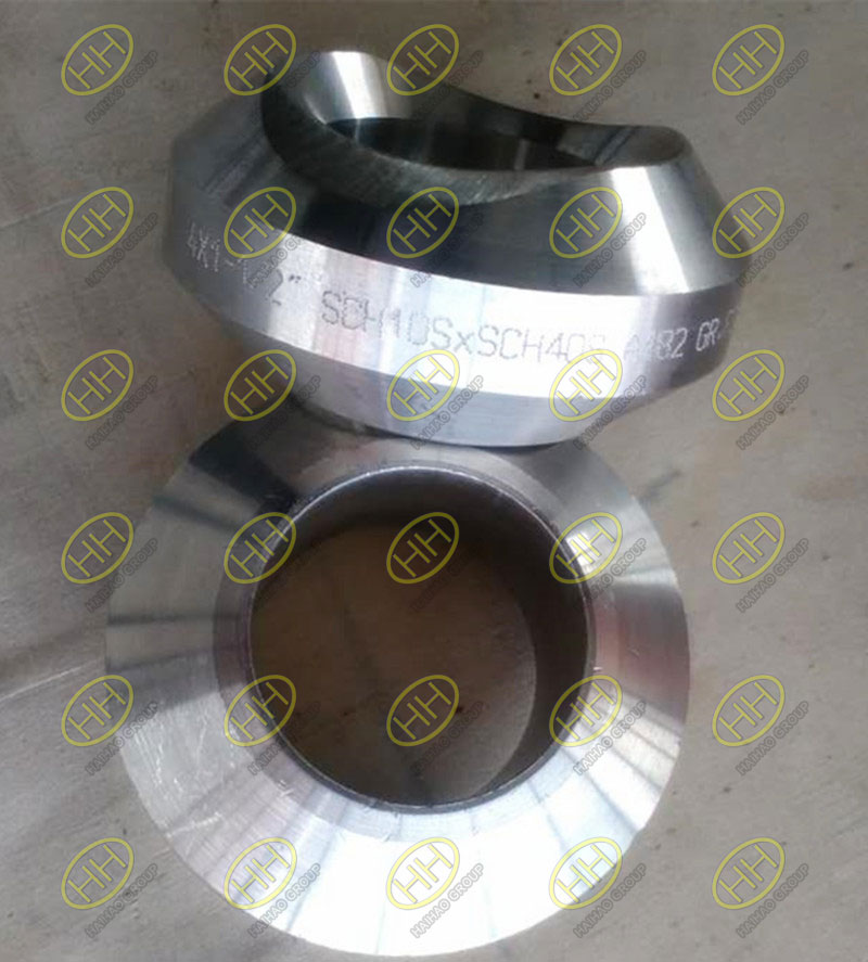 Outlet pipe fitting weldolets finished in Haihao Group