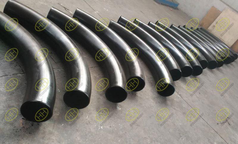5D ASTM A106 Grade B hot induction bends