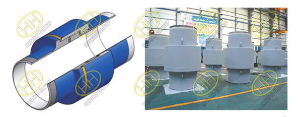 Configuration of insulation joint