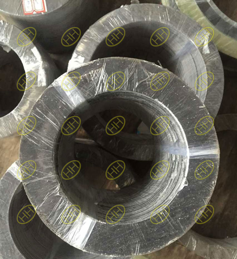 Graphite flange gaskets used in pipeline
