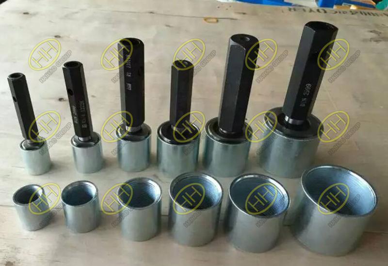 Steel pipe couplings