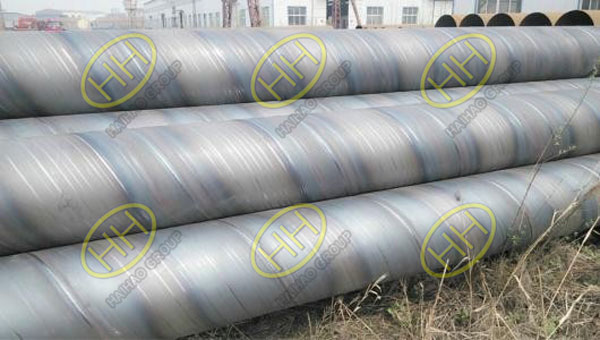 OD508MM SCHXS Q345 20 meter spiral welded pipes