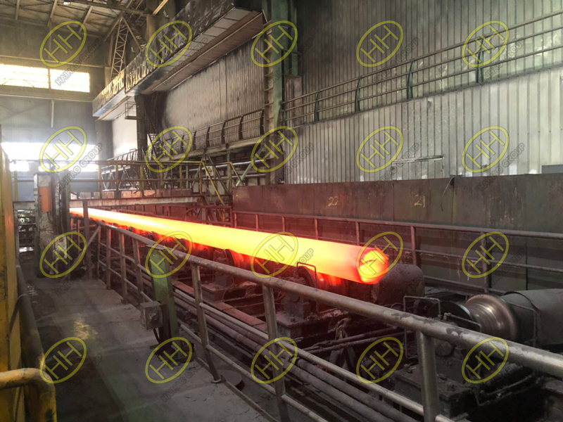 Seamless steel pipe forming process