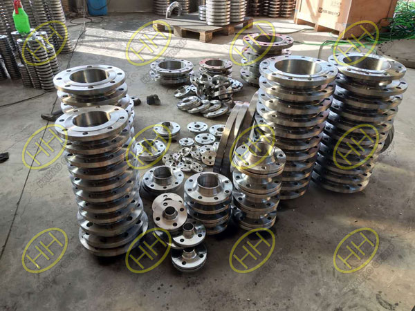 Pipe fitting and flange used in Power Plant Restoration Project in Serbia